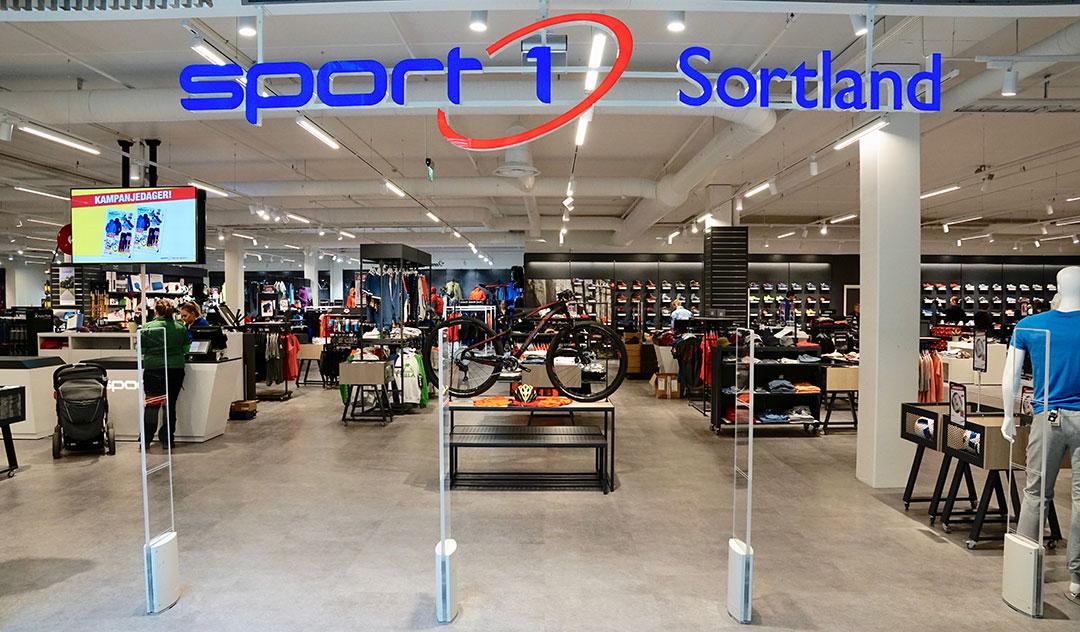 Norges nest største Sport 1 butikk